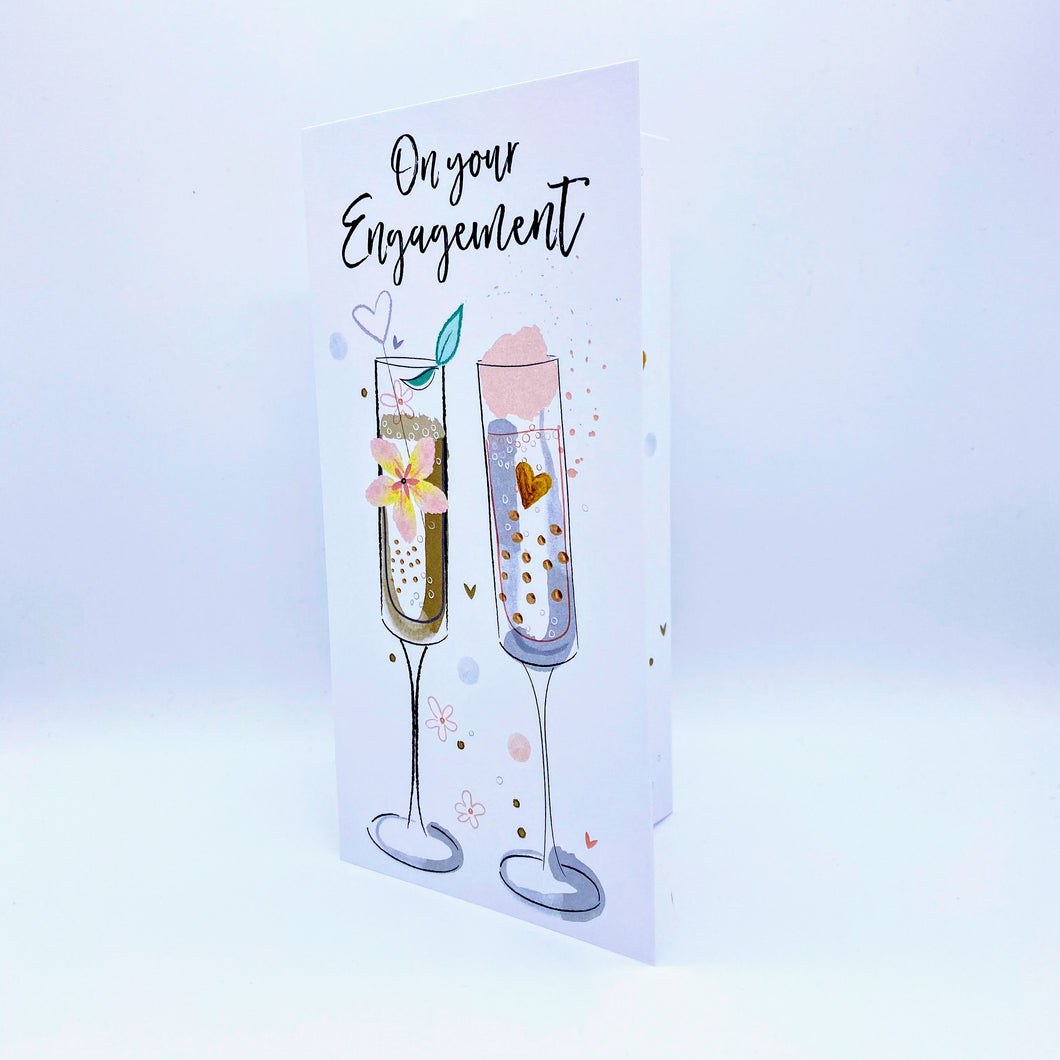 On Your Engagement - champagne - Gift Wallet