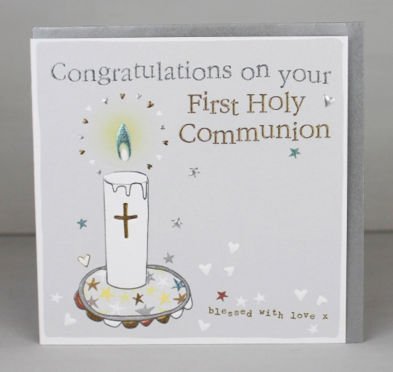 Congratulations on your First Holy Communion