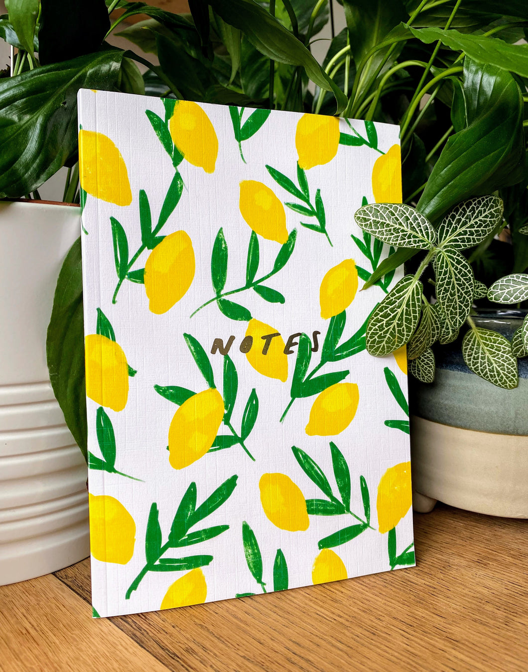 Lemon A5 Notebook