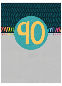 90 Birthday card