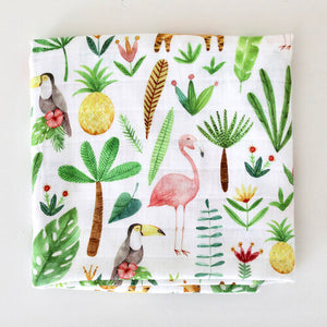 Tropical Muslin Square