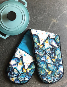Mussels Oven Gloves