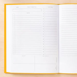 Daily Planner - Yellow or Blue