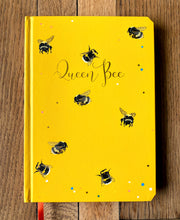 Load image into Gallery viewer, Queen Bee luxury A5 notebook journal