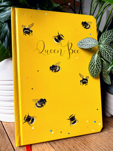 Queen Bee luxury A5 notebook journal