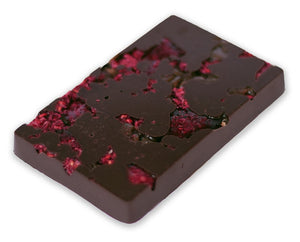 Raspberry and Salted Caramel Raw Chocolate