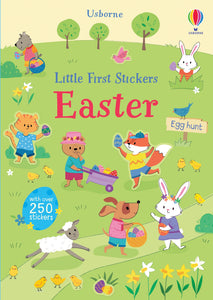 Little first stickers Easter egg hunt book