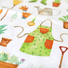 Load image into Gallery viewer, Gardening Tea Towel