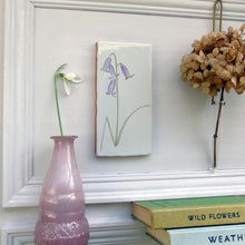 Load image into Gallery viewer, Bluebell ceramic wall art