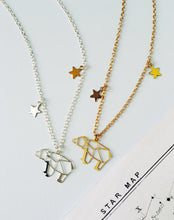 Load image into Gallery viewer, Ursa Major Constellation Bear Necklace