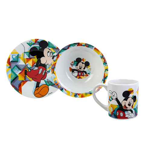 Disney Mickey Mouse 3 piece dinner set