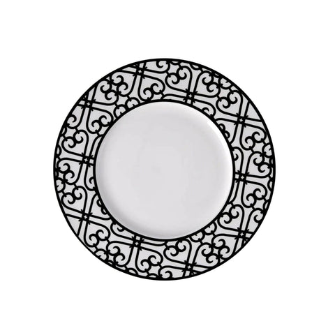 "Karaca Emma 10.5""Black serving plate"
