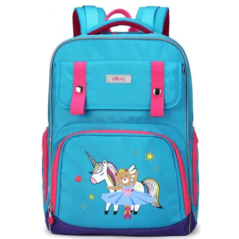 Aoking blue school bag