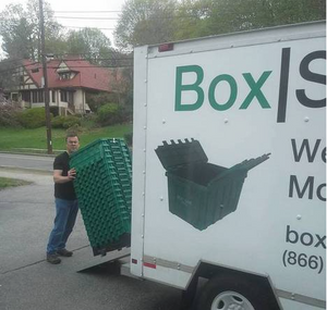 Moving Box Delivery and Pickup