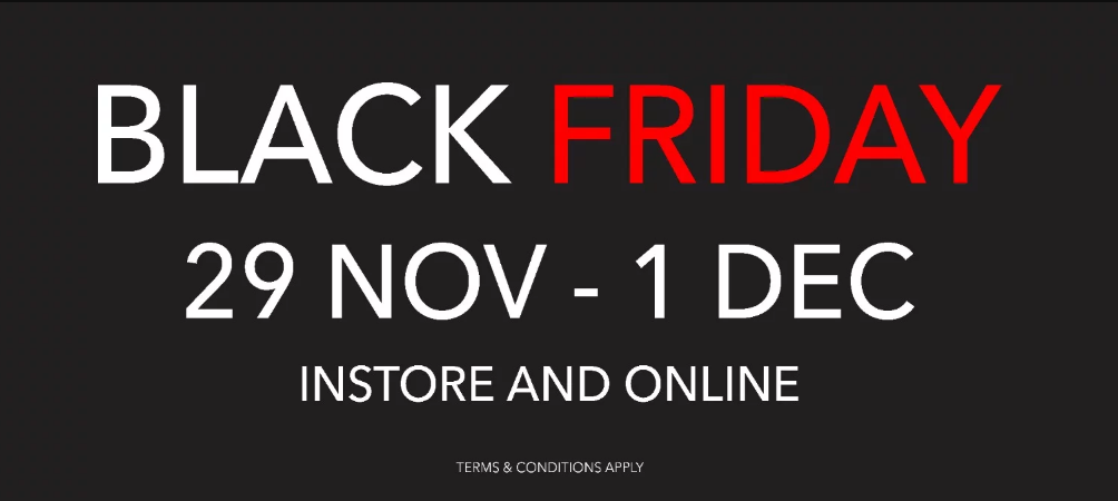 Our BLACK FRIDAY SALE has launched early!
