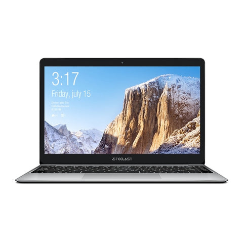Ultra Thin 14 inch Teclast F7 Plus Laptop 1920 x 1080 Windows 10 OS Intel Gemini Lake N4100 Quad Core 8GB RAM 256GB SSD Notebook