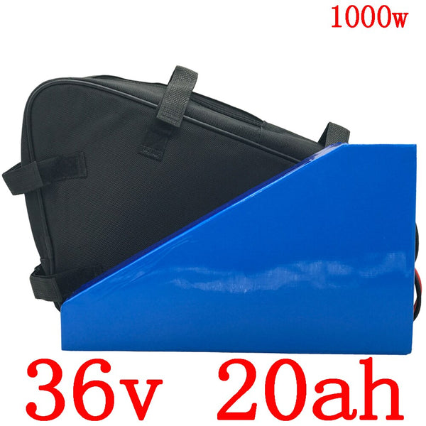 36V electric scooter battery 36V 20AH electric bike battery	 36V Lithium battery for 36V 500W 1000W ebike motor free customs tax