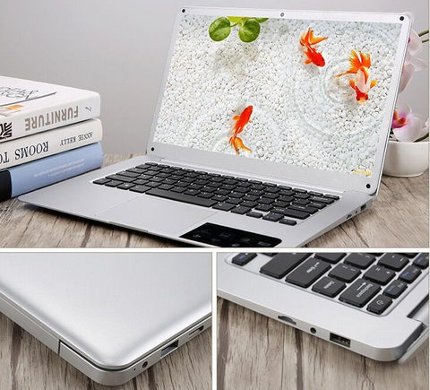 Notebook 13.6 inch i5 7200U i7 7500U DDR4 8GB 16GB SSD HDD Win10 Metal case Backlit keyboardLaptop PC