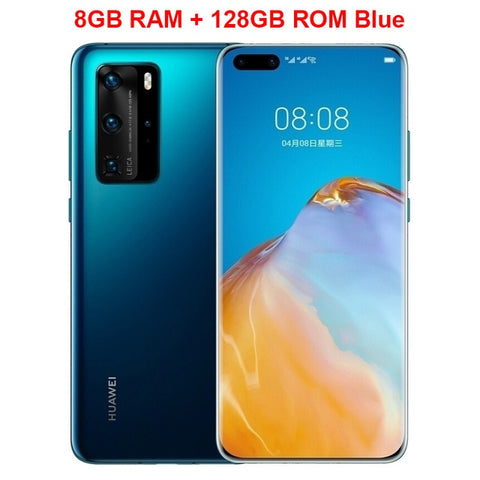 Original Huawei P40 Pro 5G Mobile Phone 6.58 inch 90Hz Screen 8GB 128GB Kirin 990 Android 10 50MP Quad Cameras 40W Smartphone