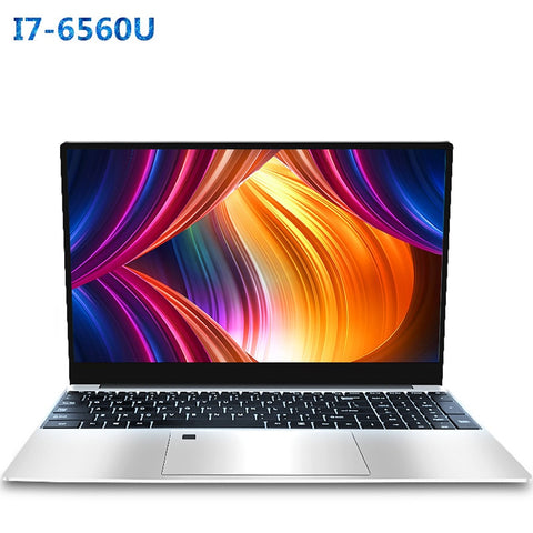 Core i7 6560U Laptop 15.6 inch 4G/ 8G / 16G DDR4 1TB 128G 256G 512G Notebook Computer Gaming Laptops Backlit Keyboard IPS Screen