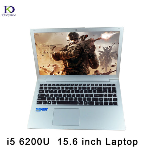 Newest 15.6 Inch Independent Graphics Laptop Computer Backlit Keyboard Netbook Core i5 6200U 1920*1080 Bluetooth