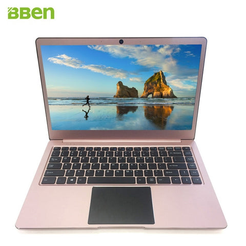 Bben N14W Laptop 14.1 inch Win10 DDR3 4GBRAM+64G EMMC Quad-Cores Intel Apollo Lake N3450 USB3.0 type-C notebook laptop