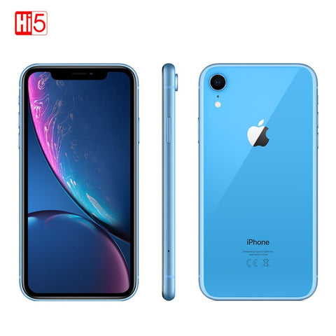 "2018 Unlocked Original Apple iPhone XR | 6.1"" Liquid Retina Fully LCD Display 64GB/128GB/256GB ROM 4G Lte Apple Smartphone"