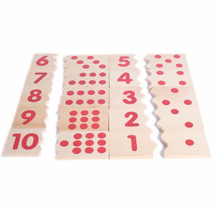 Wooden Puzzle Montessori Counting
