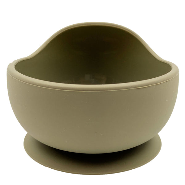 Silicone Baby Suction Bowl (3 Colours)