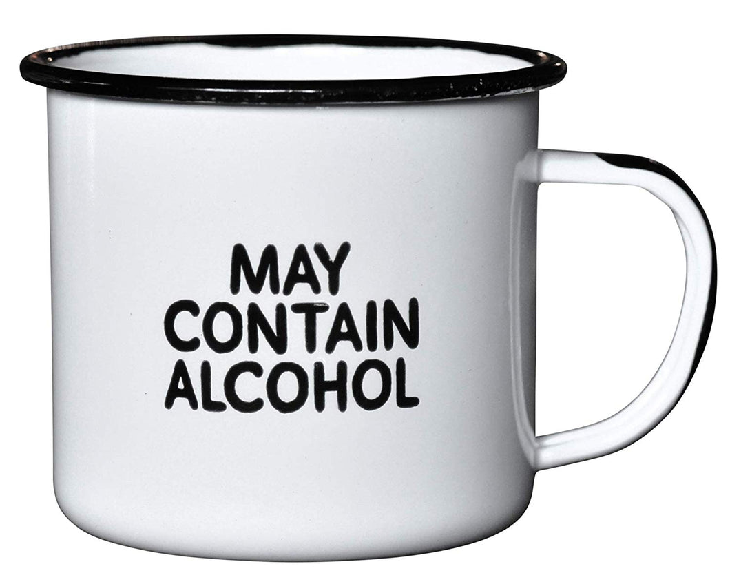 MAY CONTAIN ALCOHOL | Enamel