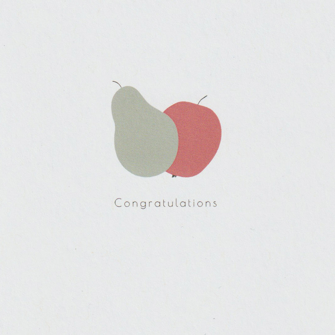 Fruits congratulations card