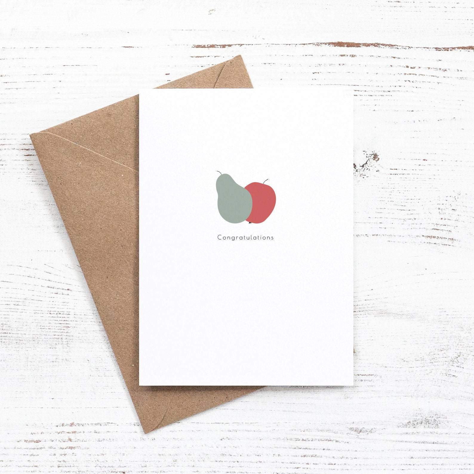 Fruity congratulations card
