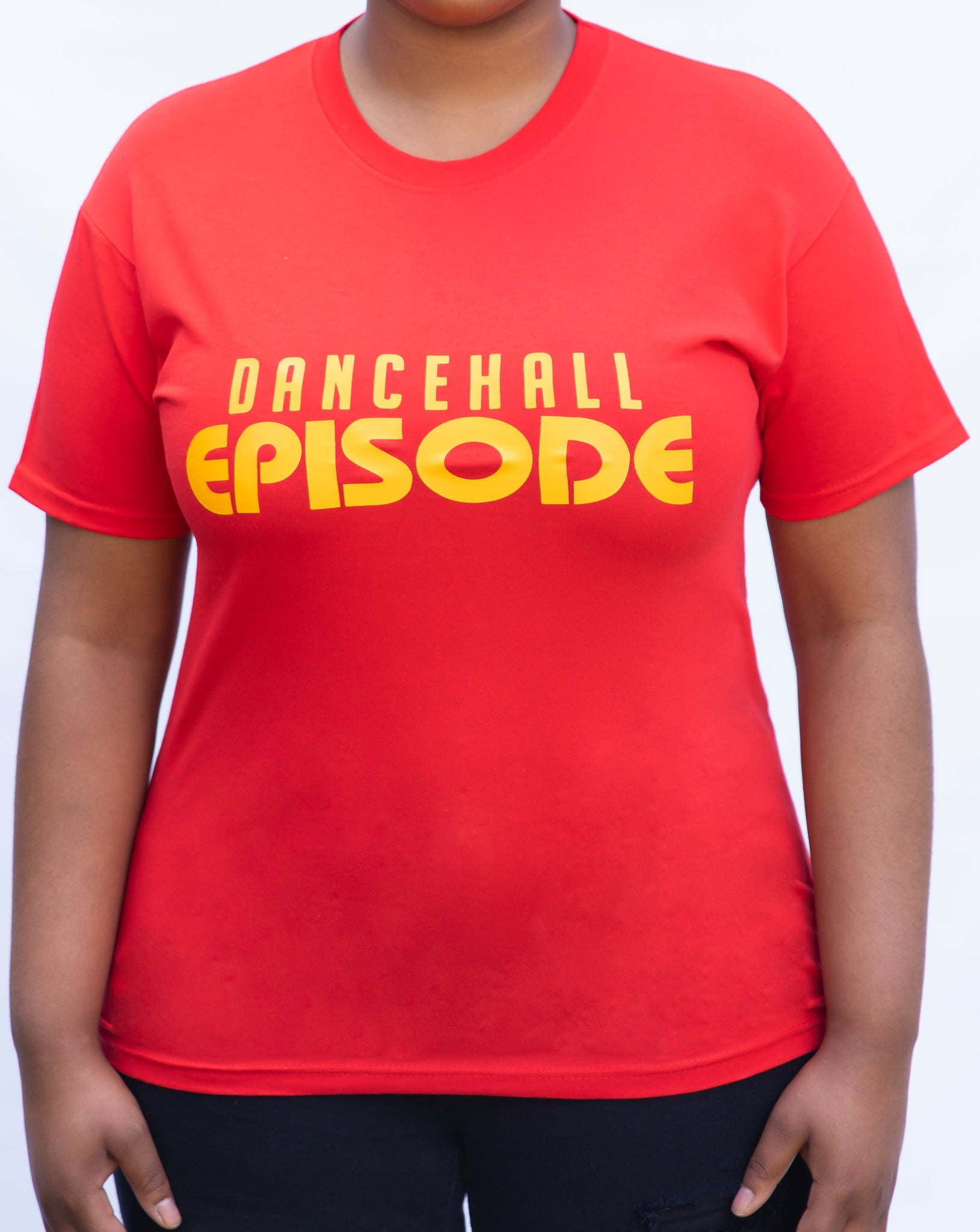 Dancehall Episode Signature Womens T-Shirt - Red