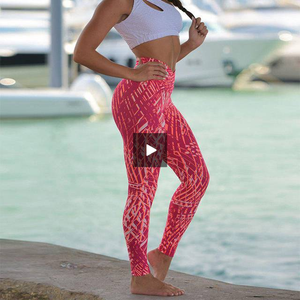 Solid Pants High Waist Mesh Sport Leggings With Pockets - OneWorldDeals