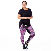Load image into Gallery viewer, 3/4 High Waist Tummy Control Capri With Pocket - OneWorldDeals