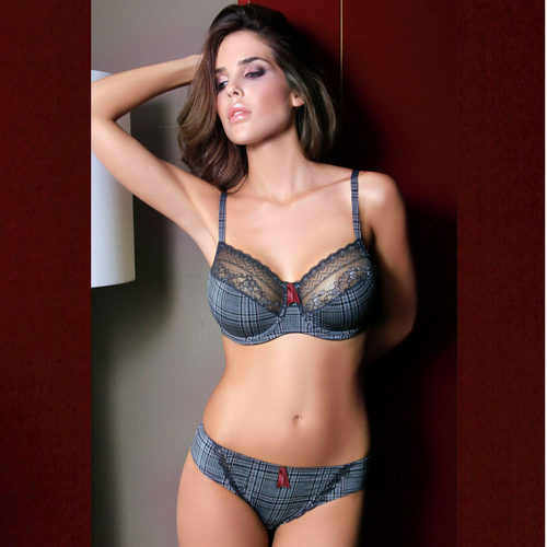 Lace Trim Unlined Underwire Bra - Iraniancinemachannel