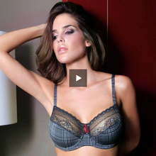 Load image into Gallery viewer, Lace Trim Unlined Underwire Bra - Saikin-rettou