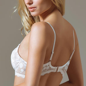 Semi Sheer Full Figure Lace Bra - Iraniancinemachannel