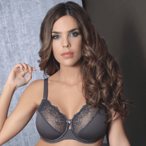 Lace Full Busted Unlined Bra - Saikin-rettou
