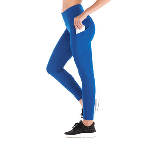 Women High Waist Leggings with Pocket - Saikin-rettou