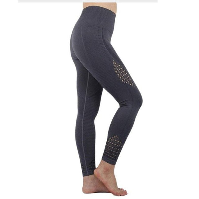 Womens High Waist Seamless Tummy Control Leggings - OneWorldDeals