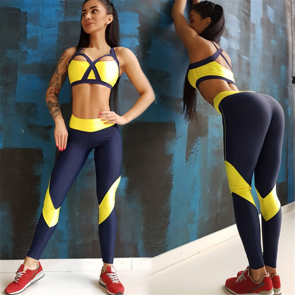 Women's Sports Bra + Leggings Set - OneWorldDeals