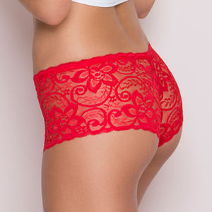 Seamless Lace Boyshorts - OneWorldDeals