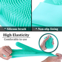 Load image into Gallery viewer, 1 Pair Magic Silicone Home + Kitchen Cleaning Gloves - Mcburneyjunction