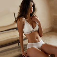 Load image into Gallery viewer, Seamless Bra And Panty Set Front Closure Bra - Mcburneyjunction