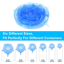 Load image into Gallery viewer, Silicone Stretch Lids Reusable Seal Lids Food Covers - OneWorldDeals