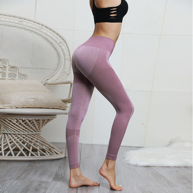 Womens High Waist Tummy Control Leggings - Mcburneyjunction