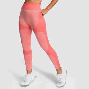 Womens High Waist Tummy Control Leggings - Saikin-rettou