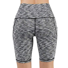 Load image into Gallery viewer, Women's High Waist Short Leggings With Pocket - Mcburneyjunction