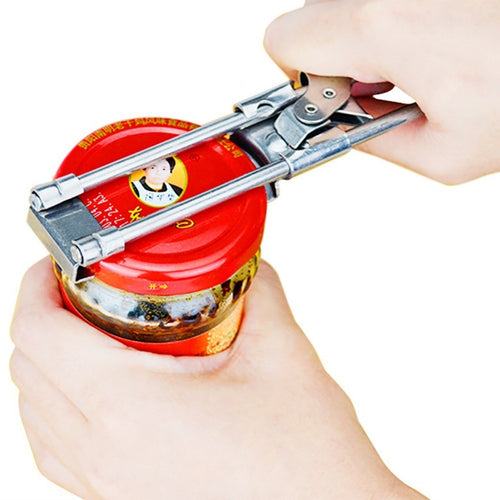 Stainless Steel Adjustable Can Opener - OneWorldDeals